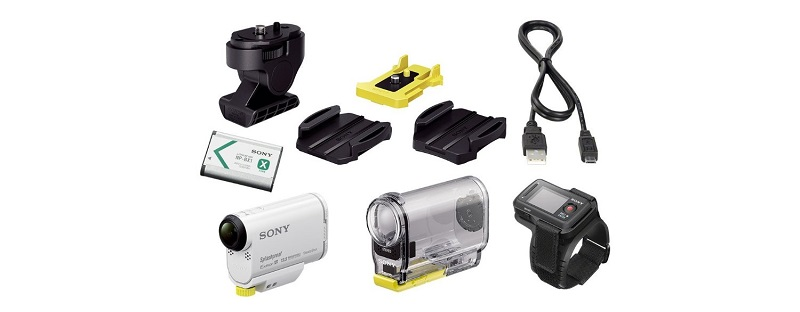 Sony HDR-AS100VR Lieferumfang